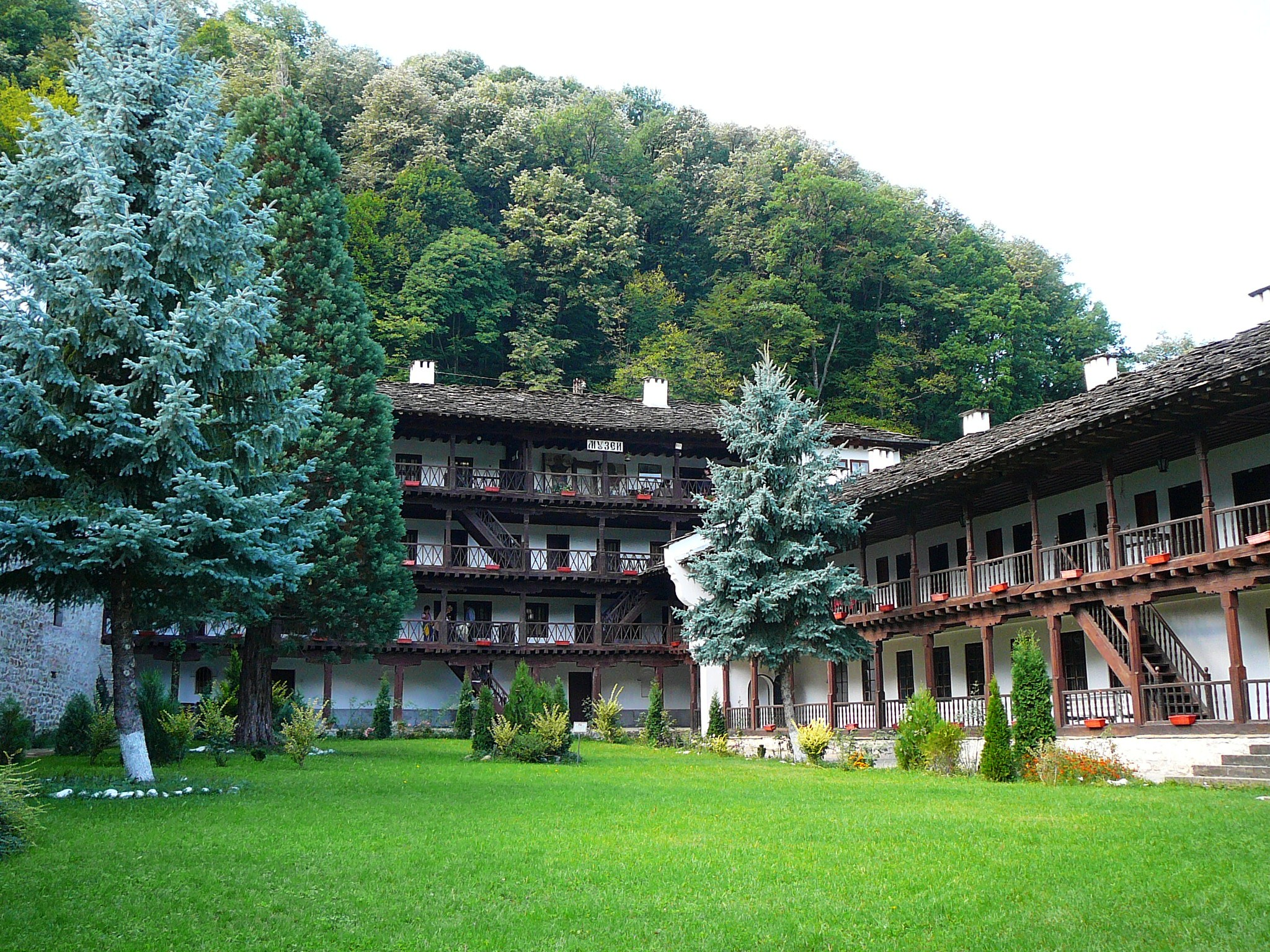Troyan Monastery Is The Third In Size In Bulgaria