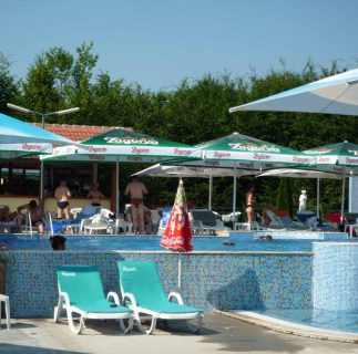 Swimming Pool in Hotel Panorama